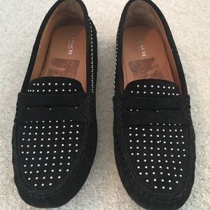 Coach studded loafers